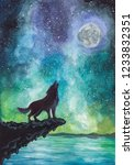The Wolf Howls At The Moon