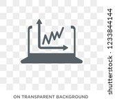 data visualization icon. trendy ...   Shutterstock .eps vector #1233844144