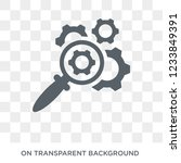 optimization icon. trendy flat... | Shutterstock .eps vector #1233849391