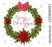 vector illustration of a fir... | Shutterstock .eps vector #1233858391