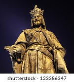 Bronze Statue Of Charles Iv. In ...