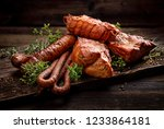 Smoked Meats And Sausages. A...