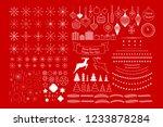 vector universal mega... | Shutterstock .eps vector #1233878284