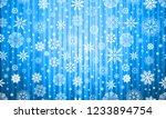 blue christmas lights holiday... | Shutterstock .eps vector #1233894754