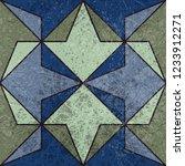 vintage geometric seamless...   Shutterstock .eps vector #1233912271