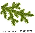 tree christmas branch isolated... | Shutterstock .eps vector #1233922177