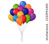 vector illustration of colored... | Shutterstock .eps vector #1233941404