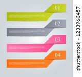 infographic design template....   Shutterstock .eps vector #1233963457