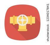 valve. pipeline control.   | Shutterstock .eps vector #1234017841