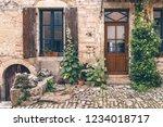 flavigny sur ozerain  c te d'or ...   Shutterstock . vector #1234018717