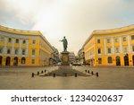 odessa   11.7.2018  monument of ...   Shutterstock . vector #1234020637