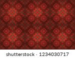 raster abstract colorful... | Shutterstock . vector #1234030717
