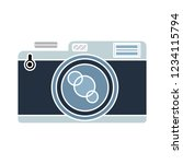 vector photography camera... | Shutterstock .eps vector #1234115794