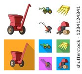 motoblock and other...   Shutterstock . vector #1234124341