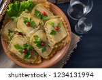jellied beef tongue with... | Shutterstock . vector #1234131994
