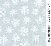 this is a winter seamless... | Shutterstock .eps vector #1234137427