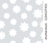 this is a winter seamless... | Shutterstock .eps vector #1234137451