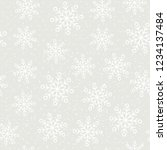 this is a winter seamless... | Shutterstock .eps vector #1234137484