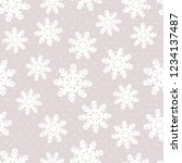 this is a winter seamless... | Shutterstock .eps vector #1234137487