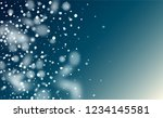 falling snow background.... | Shutterstock .eps vector #1234145581