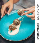 energy superfood balls   Shutterstock . vector #1234149724