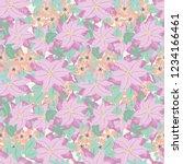 festive seamless pattern in...   Shutterstock . vector #1234166461