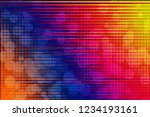 abstract colored background ... | Shutterstock . vector #1234193161