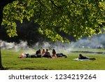 swabian alps  germany  04 22...   Shutterstock . vector #1234219264