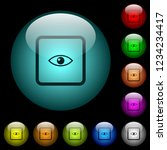 preview object icons in color... | Shutterstock .eps vector #1234234417