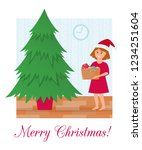 hristmas tree without...   Shutterstock .eps vector #1234251604