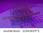 background abstract  education...   Shutterstock . vector #1234262971