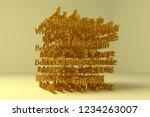 cgi typography  motivation...   Shutterstock . vector #1234263007