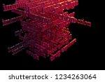 cgi typography with dark...   Shutterstock . vector #1234263064