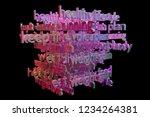 3d rendering. background...   Shutterstock . vector #1234264381