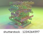 cgi typography  business or...   Shutterstock . vector #1234264597