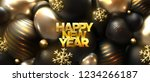 happy new year. abstract cover... | Shutterstock .eps vector #1234266187