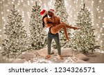 merry christmas and happy new... | Shutterstock . vector #1234326571