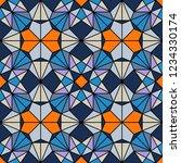 geometric seamless pattern....   Shutterstock .eps vector #1234330174