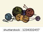 big soft natural multi color...   Shutterstock .eps vector #1234332457