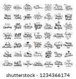 christmas   new year giant...   Shutterstock .eps vector #1234366174