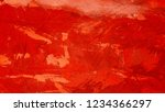 grunge red wall cement concrete ... | Shutterstock . vector #1234366297