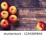 apple food background  from... | Shutterstock . vector #1234389844