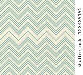 retro seamless zigzag pattern... | Shutterstock . vector #123439195