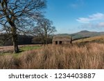 view to a distant shutlingsloe... | Shutterstock . vector #1234403887