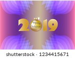 new year background | Shutterstock .eps vector #1234415671