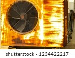 the outdoor unit of air... | Shutterstock . vector #1234422217