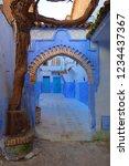 chefchaouen  morocco   circa... | Shutterstock . vector #1234437367