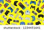 video game controller gamepad... | Shutterstock . vector #1234451641