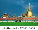 beautiful wat phra kaew temple... | Shutterstock . vector #1234513654