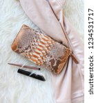 fashion women accessories.... | Shutterstock . vector #1234531717